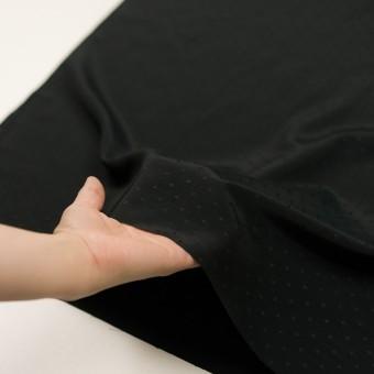 コットン&シルク×小紋(ブラック)×ローンジャガード_全2色 サムネイル5
