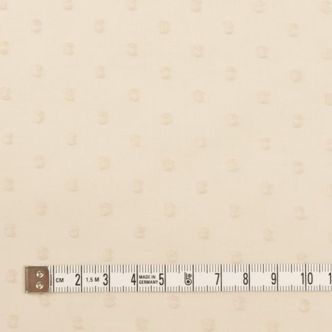 コットン×ドット(キナリ)×ボイルカットジャガード_全2色 イメージ4