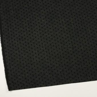 コットン×ドット(ブラック)×ボイルカットジャガード_全2色 サムネイル2