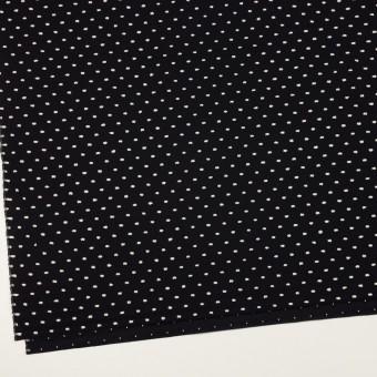 コットン×ドット(ブラック&オフホワイト)×ローンカットジャガード サムネイル2