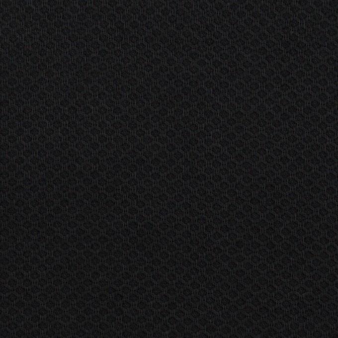 コットン×無地(ダークネイビー)×アートピケ イメージ1