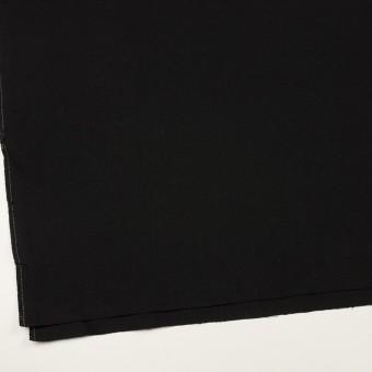 コットン×無地(ブラック)×斜子織 サムネイル2