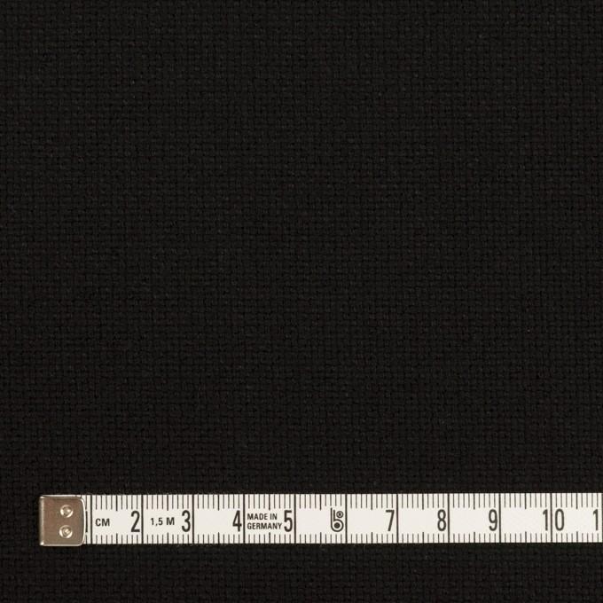 コットン×無地(ブラック)×斜子織 イメージ4