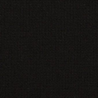 コットン×無地(ブラック)×斜子織