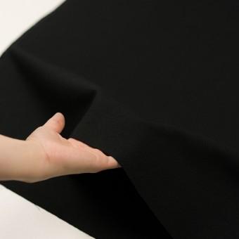 コットン×無地(ブラック)×斜子織 サムネイル5