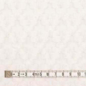 コットン&ナイロン×幾何学模様(オフホワイト)×オーガンジー・カットジャガード サムネイル4