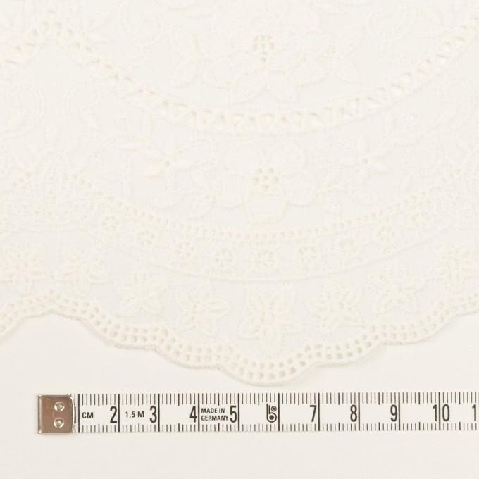 コットン×フラワー(オフホワイト)×ローン刺繍 イメージ4