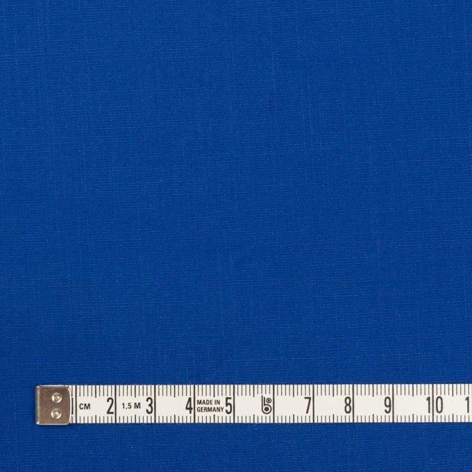 コットン&ラミー×無地(ロイヤルブルー)×ポプリンワッシャー_全2色 イメージ4