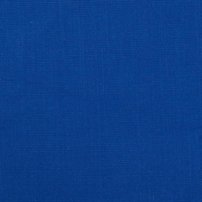 コットン&ラミー×無地(ロイヤルブルー)×ポプリンワッシャー_全2色 イメージ1