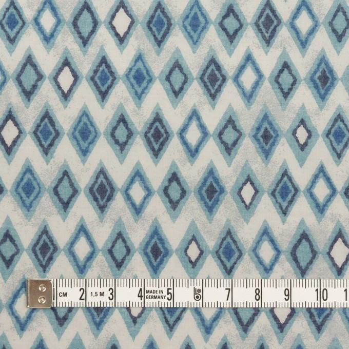 コットン×ダイヤ(ブルーグレー)×ボイル_全2色 イメージ4