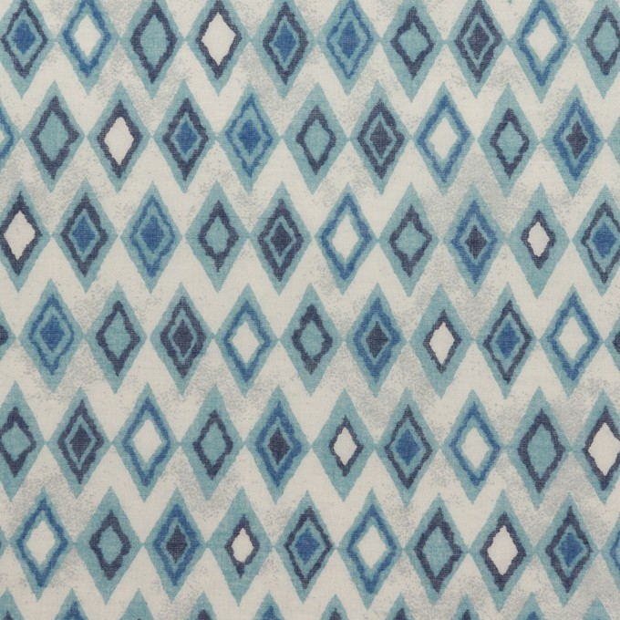 コットン×ダイヤ(ブルーグレー)×ボイル_全2色 イメージ1