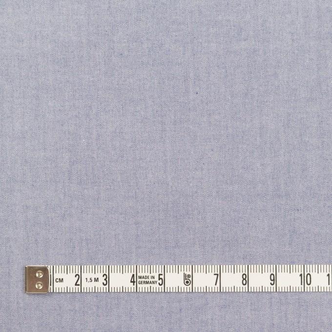 コットン×無地(アッシュブルー)×シャンブレー・ローン イメージ4