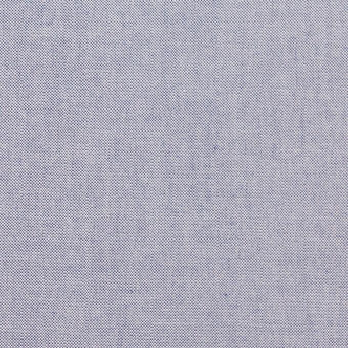 コットン×無地(アッシュブルー)×シャンブレー・ローン イメージ1