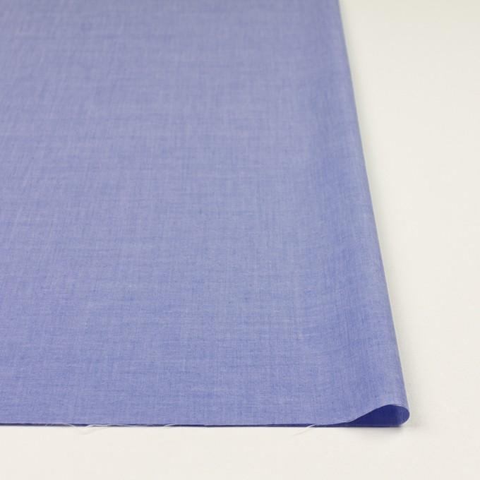 コットン&テンセル混×無地(ブルー)×シャンブレー・ローン_全3色 イメージ3