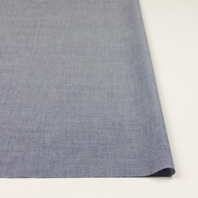 コットン&テンセル混×無地(アッシュネイビー)×シャンブレー・ローン_全3色 イメージ3