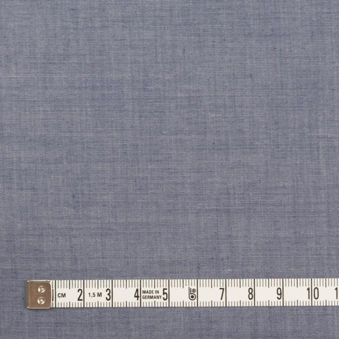 コットン&テンセル混×無地(アッシュネイビー)×シャンブレー・ローン_全3色 イメージ4