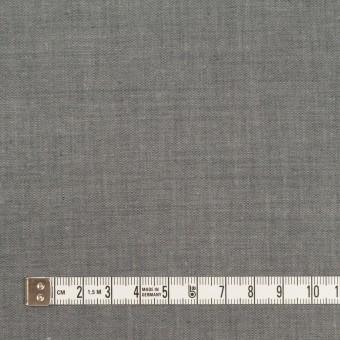 コットン&テンセル混×無地(チャコールグレー)×シャンブレー・ローン_全3色 サムネイル4