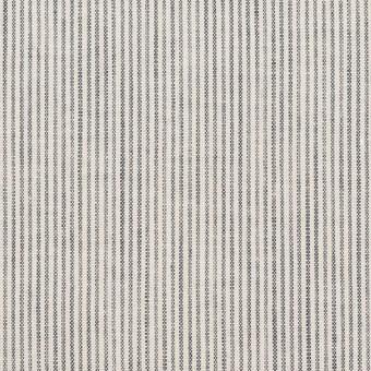 コットン&リネン×ストライプ(ネイビー&オフホワイト)×シーチング_全2色