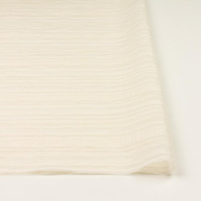 ナイロン&コットン×ボーダー(キナリ)×オーガンジー・ジャガード イメージ3