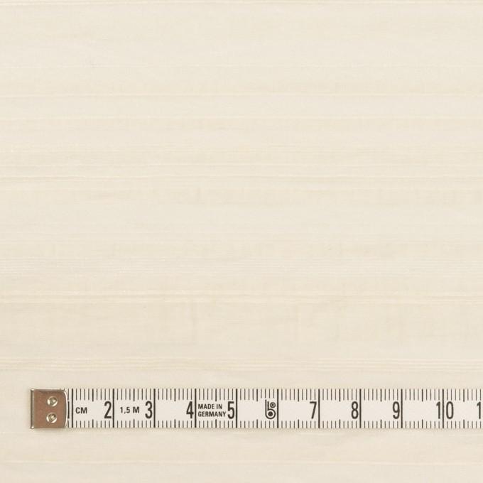 ナイロン&コットン×ボーダー(キナリ)×オーガンジー・ジャガード イメージ4