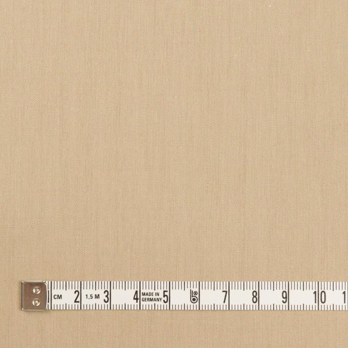 コットン&テンセル×無地(ベージュ)×ブロード_全3色 イメージ4