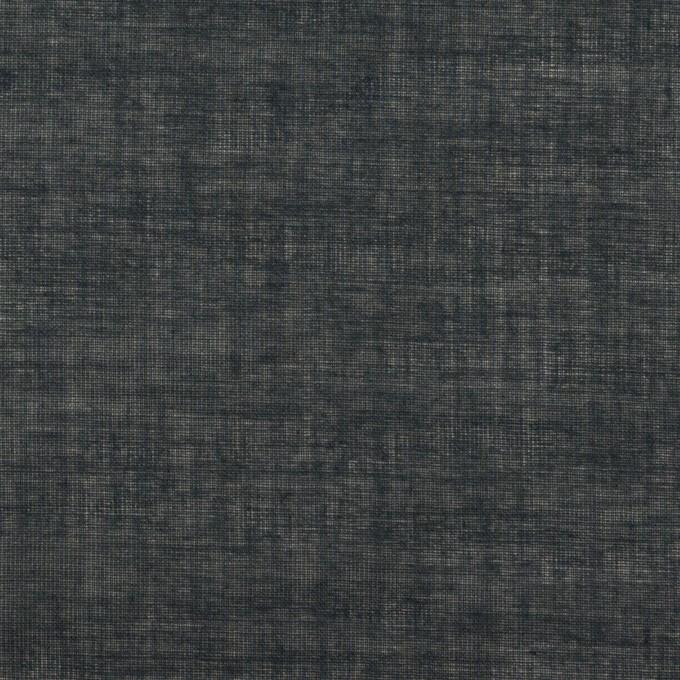 コットン×無地(アッシュネイビー)×ボイル イメージ1