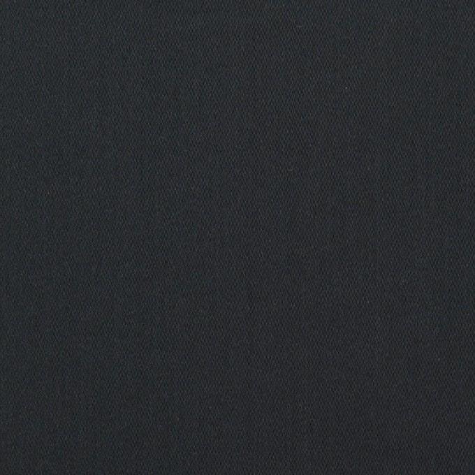 コットン&ポリアミド×無地(アッシュネイビー)×サテン_イタリア製 イメージ1