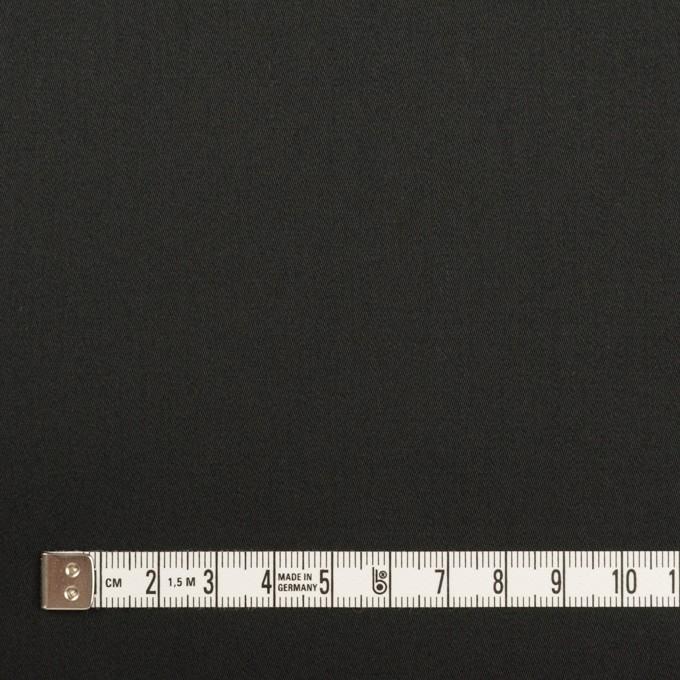 コットン×無地(ブラック)×サテン イメージ4