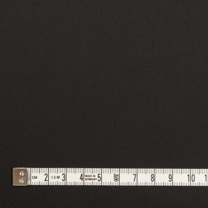 コットン&レーヨン×無地(ブラック)×サテン イメージ4