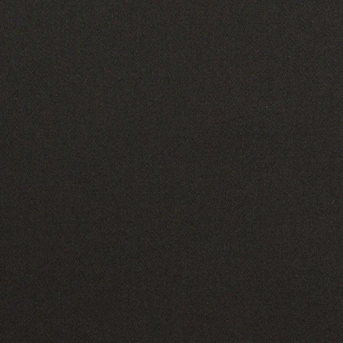 コットン&レーヨン×無地(ブラック)×サテン イメージ1