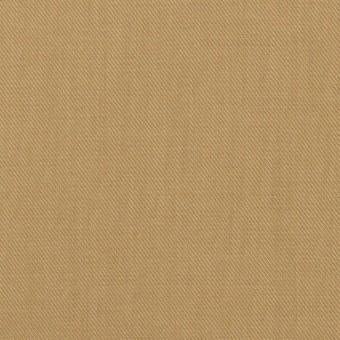 コットン&シルク×無地(カーキベージュ)×サージ_全4色