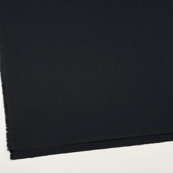 コットン&シルク×無地(ブラック)×サージ_全4色 サムネイル2