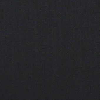 コットン&シルク×無地(ブラック)×サージ_全4色