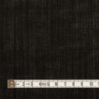 ウール×無地(ブラック)×ボイル サムネイル4