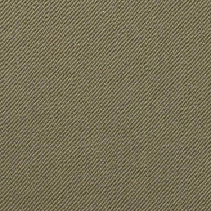 コットン&ナイロン×無地(アッシュカーキグリーン)×チノクロス イメージ1