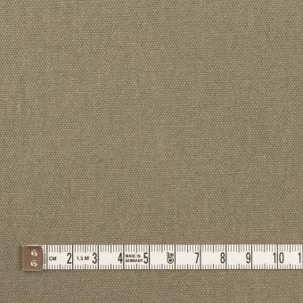 コットン&リネン×無地(グレイッシュカーキ)×厚オックスフォード サムネイル4