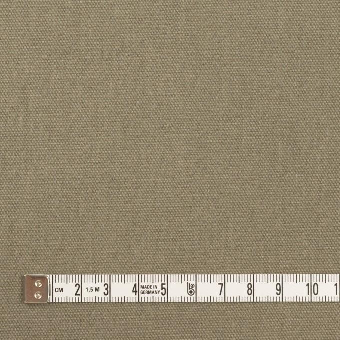 コットン&リネン×無地(グレイッシュカーキ)×厚オックスフォード イメージ4