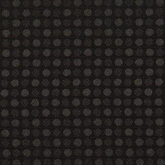 ポリエステル×ドット(ブラック)×ボイルジャガード