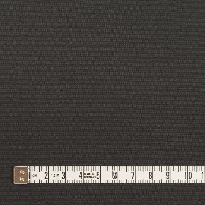 コットン&ポリアミド×無地(チャコール)×高密ブロード_イタリア製_全2色 イメージ4