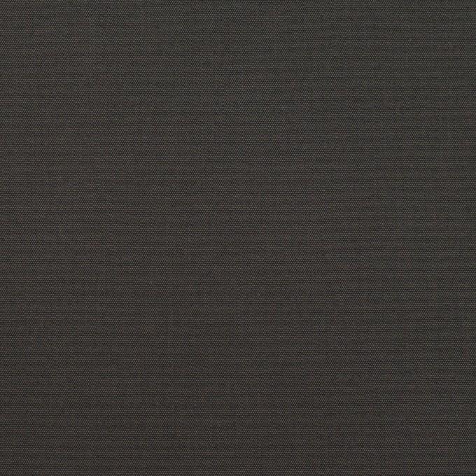 コットン&ポリアミド×無地(チャコール)×高密ブロード_イタリア製_全2色 イメージ1