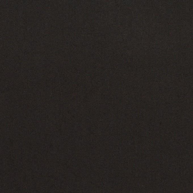 コットン&ポリアミド×無地(チャコールブラック)×高密ブロード_イタリア製_全2色 イメージ1