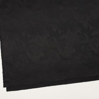 コットン&ポリウレタン×迷彩(ブラック)×ジャガード・ストレッチ サムネイル2