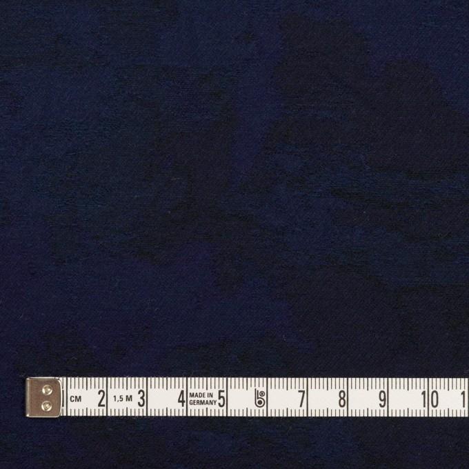 コットン×幾何学模様(ミッドナイトブルー)×ジャガード イメージ4