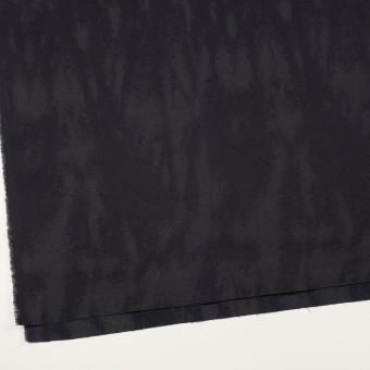 コットン&ポリウレタン×幾何学模様(ダークグレープグレー)×ジャガード・ストレッチ サムネイル2