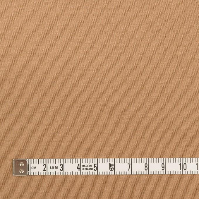 コットン&モダール×無地(キャメル)×スムースニット イメージ4