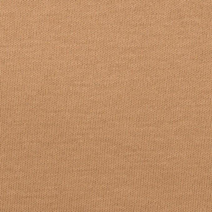 コットン&モダール×無地(キャメル)×スムースニット イメージ1