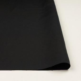 コットン&シルク混×無地(ブラック)×シャンタン サムネイル3