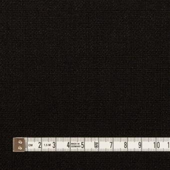 ポリエステル×無地(ブラック)×かわり織 サムネイル4