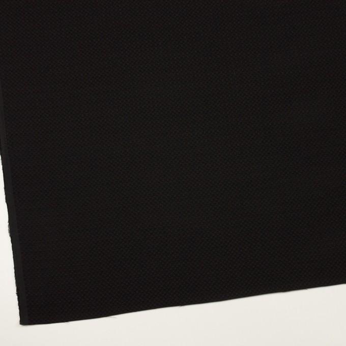 ポリエステル×無地(ブラック)×ジャガード イメージ2