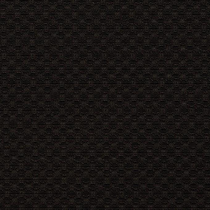ポリエステル×無地(ブラック)×ジャガード イメージ1